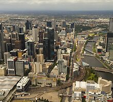 Flight over Melbourne by Timo Balk