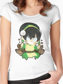 Avatar the Last Airbender || Toph Women's Fitted Scoop T-Shirt