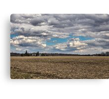 Dynamic Farmland Landscape Canvas Print