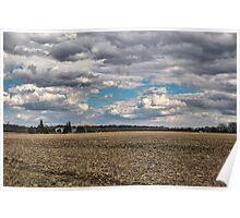 Dynamic Farmland Landscape Poster