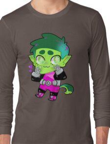 Teen Titans || Beast Boy Long Sleeve T-Shirt