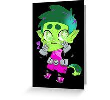 Teen Titans || Beast Boy Greeting Card