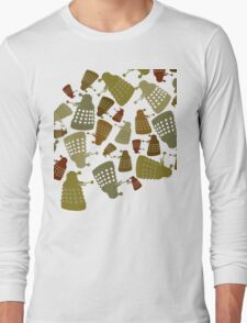 Doctor Who - DALEK Camouflage Long Sleeve T-Shirt
