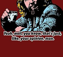 The Big Lebowski and Philosophy 1 by Shirtquotes