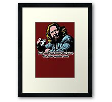 The Big Lebowski and Philosophy 1 Framed Print