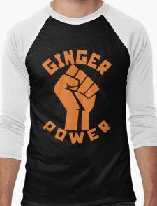 Ginger Power Men's Baseball ¾ T-Shirt