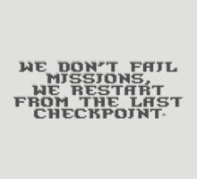 Checkpoint! by WeepingHoney