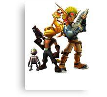 Jak & Dexter and Ratchet & Clank Canvas Print