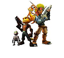 Jak & Dexter and Ratchet & Clank Photographic Print