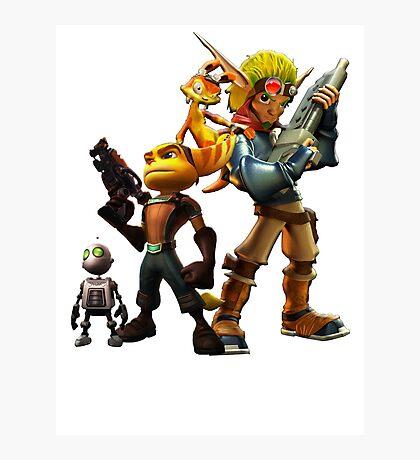 Jak & Dexter and Ratchet & Clank Photographic Print