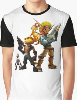 Jak & Dexter and Ratchet & Clank Graphic T-Shirt