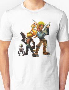 Jak & Dexter and Ratchet & Clank Unisex T-Shirt