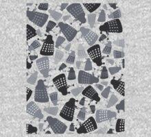 50 Shades of Grey Daleks - Doctor Who - DALEK Camouflage Baby Tee