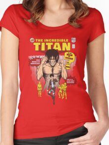 The Incredible Titan Women's Fitted Scoop T-Shirt