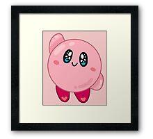 Nintendo || Kirby Framed Print