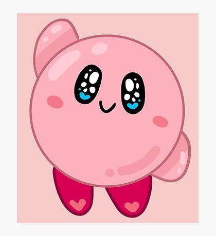 Nintendo    Kirby Photographic Print