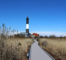 Fire Island Lighthouse by Gilda Axelrod