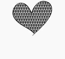 221B Wallpaper Heart Unisex T-Shirt