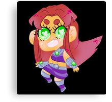 Teen Titans || Starfire Canvas Print