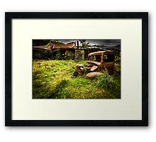 NZ's Past Framed Print