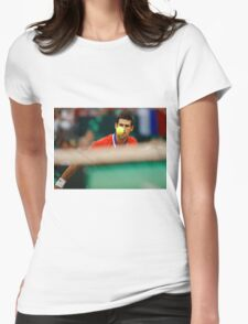 Novak Djokovic Womens Fitted T-Shirt