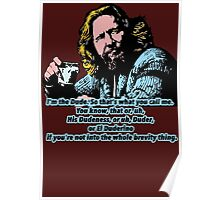 The Big lebowski and the philosophy 2 Poster