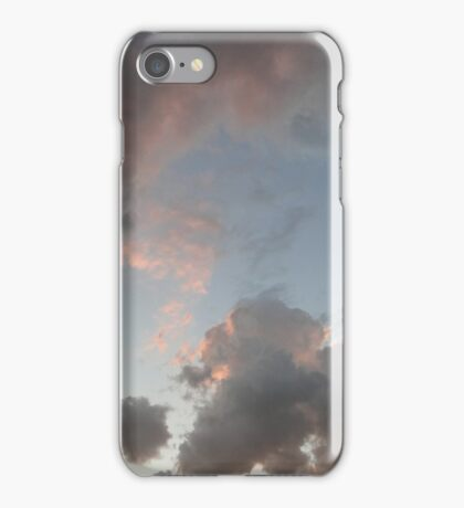 The Cloudy Sunset III iPhone Case/Skin