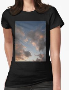 The Cloudy Sunset II Womens Fitted T-Shirt