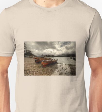 Stormy Skies over Derwent Water  Unisex T-Shirt