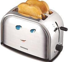 Toaster-Chan by biodude