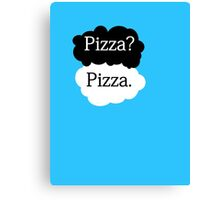 TFIOS inspired Pizza? Pizza. Canvas Print
