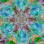 Pastel Star Kaleidoscope  by Tori Snow