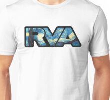 rva - starry night by van gogh Unisex T-Shirt