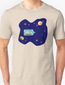 Space Ship Unisex T-Shirt