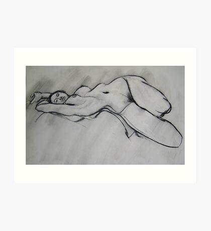 Just a little sketch Art Print
