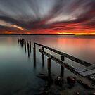Dusk & Delapidation - Cleveland Qld Australia by Beth  Wode