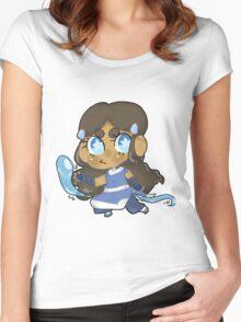 Avatar the Last Airbender    Katara Women's Fitted Scoop T-Shirt