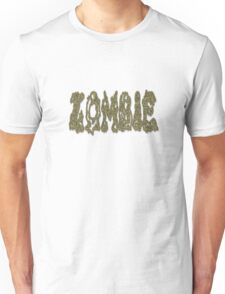 Zombie Graphic Word Unisex T-Shirt