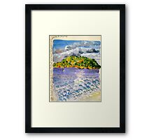 Canning afternoon Framed Print