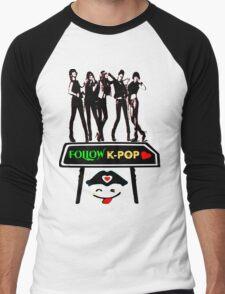 ♥♫Follow K-Pop Splendiferous K-Pop Clothing & Phone/iPad/Tablet/Laptop Cases & Stickers & Bags & Home Decor & Stationary♪♥ Men's Baseball ¾ T-Shirt