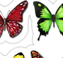 Butterflies Collection: color ur life Sticker