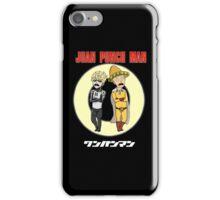 Juan Punch Man iPhone Case/Skin