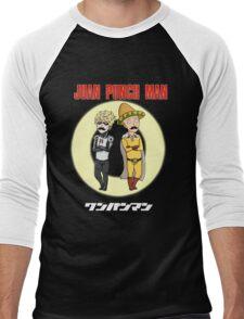 Juan Punch Man Men's Baseball ¾ T-Shirt