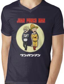 Juan Punch Man Mens V-Neck T-Shirt