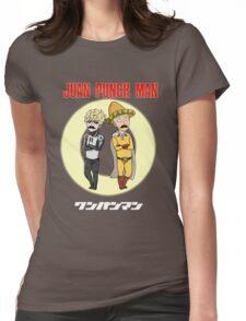 Juan Punch Man Womens Fitted T-Shirt