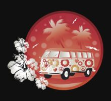 Retro bus with floral patterns  Kids Clothes