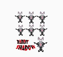rabbit shadow Womens Fitted T-Shirt