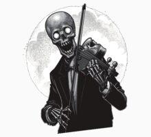 Dark Skeleton Violinist by TobyT