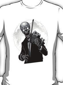 Dark Skeleton Violinist T-Shirt