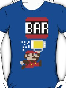 To The Bar Bro! - Mario T-Shirt